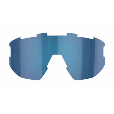 Линза к очкам BLIZ модели Matrix Smallface, серая с синим мультинапылением