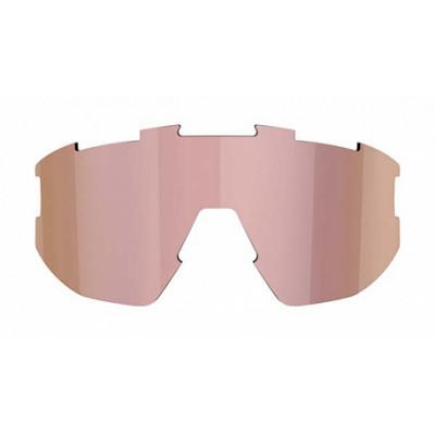 Линза к очкам BLIZ модели Matrix Smallface, коричневая с розово-золотистым мультинапылением