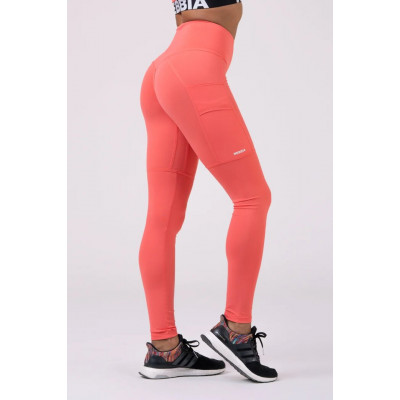 Лосины Nebbia 505 High waist fit&smart peach