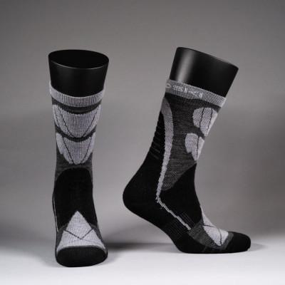 Носки Nordski Wool Black/Grey