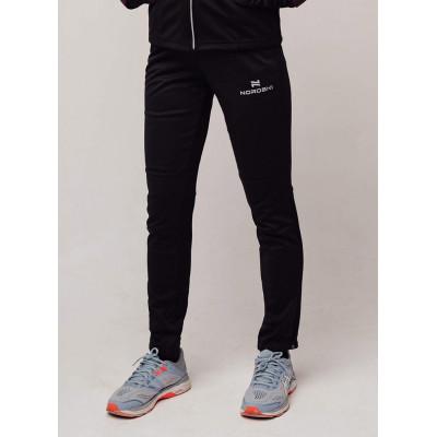 Разминочные брюки NORDSKI Base black W
