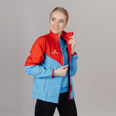 Ветровка Nordski Sport Red/Blue W