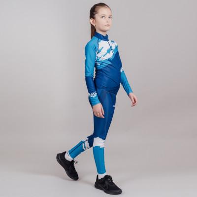 Гоночный костюм Nordski Jr.Premium Seaport