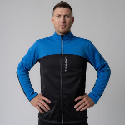 Разминочная куртка Nordski Active Blue/Black M