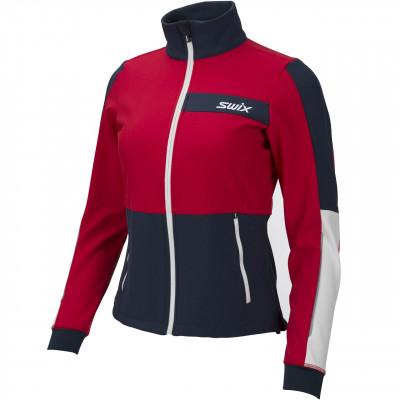Разминочная Куртка Swix Strive W (красная)